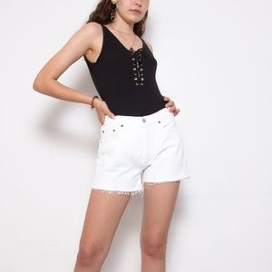 Vintage Levi's Cutoff Denim Shorts 28